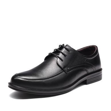 富贵鸟男士系带商务正装皮鞋低帮鞋 T994237