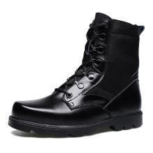 承发冬新品男靴欧美牛皮马丁靴男士工装皮靴休闲百搭靴子中帮军靴 1267