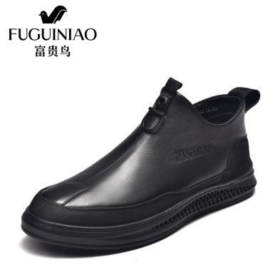富貴鳥男靴 踝靴切爾西男靴 D984017