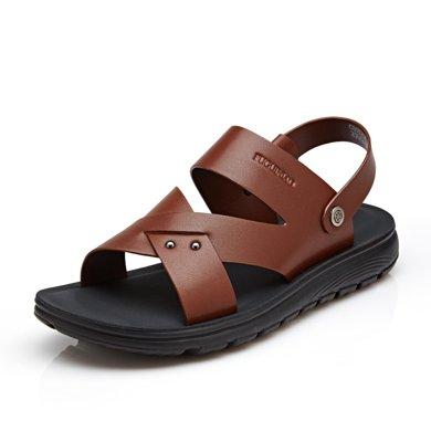 富贵鸟凉鞋 时尚透气男士凉鞋沙滩鞋 C803218Q