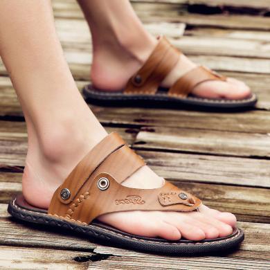 搭歌2019新款夏季男士大碼涼鞋戶外休閑時尚透氣涼拖鞋休閑男鞋K6603