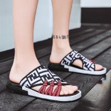 夏季拖鞋迷彩潮流时尚民族风拖鞋可外穿简约休闲鞋  JL1651