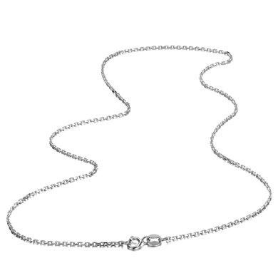 佐卡伊18k金项链彩金 白18K金 18K玫瑰金 黄18K金可选 珠宝首饰