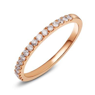 Cerana 公主18K金钻石排戒戒指求婚结婚婚戒