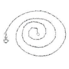 妍韵珠宝 925银满天星瓜子链YAN00491(16寸)银色