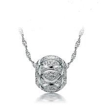 armasa阿玛莎 S925银圆珠 925银链 韩版时尚吊坠  s999013