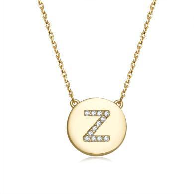 【香港直郵 包郵包稅】ZIVI丹麥至未 Tag經典Z-zivi項鏈 3100152