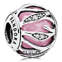 PANDORA 潘多拉 粉色自然的光华925银串珠791969PCZ(1)