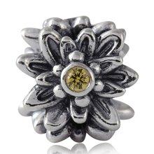 PANDORA 潘多拉 925银锆石雪绒花791176CZY(1)