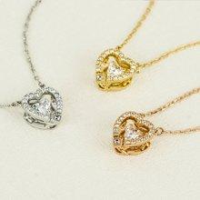 Swarovski施华洛世奇 跳动的心项链 玫瑰金5284188 银色5272365 金色5284190