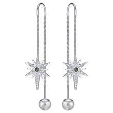 SWAROVSKI 施华洛世奇 Fantastic海星珍珠水晶耳线耳环 5230603