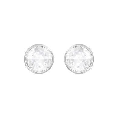 【支持购物卡】Swarovski施华洛世奇 HOTE 女士穿孔圆形耳环 1cm 5301473
