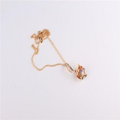 芳美亞新款水晶項鏈 女飾品短款鎖骨 生日禮物