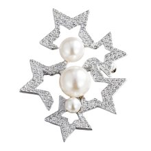 swarovski施华洛世奇FANFARE胸针 镂空设计胸花别针 衣服配饰5215310