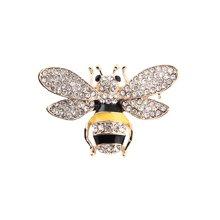 盈满堂 时尚迷你可爱小蜜蜂胸针