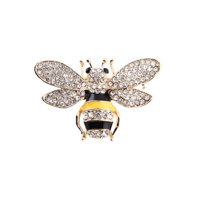 盈滿堂 時尚迷你可愛小蜜蜂胸針
