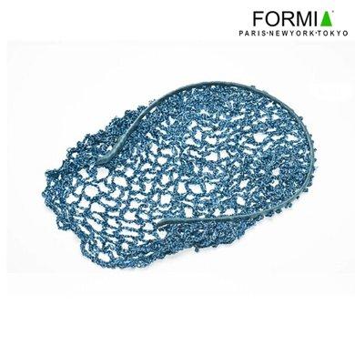 FORMIA/芳美亞 發飾 頭花 發網 隱形發網 網兜 民族頭花  藍色