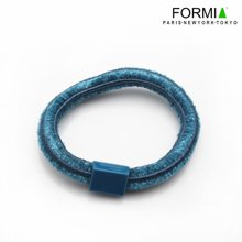 FORMIA芳美亚精美发圈皮筋弹力耐用时尚头饰HF6600304蓝色