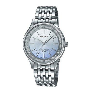 卡西歐LTH-1054時尚指針女士手表正品防水石英表簡約女腕表包郵