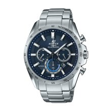 CASIO卡西欧手表男 时尚大表盘蓝宝石太阳能手表EFB-520