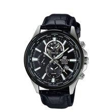 casio卡西欧手表男商务夜光钢带皮带防水石英男士手表EFR-304