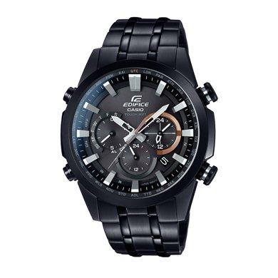 CASIO卡西歐正品手表商務大氣男士腕表太陽能鋼帶男表 EQW-T630