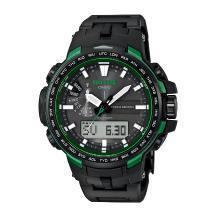正品卡西歐手表男士戶外登山系列腕表電波光能PRW-6100