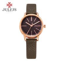 聚利时正品个性时尚磨砂表盘石英皮带学生手表女表JA-944