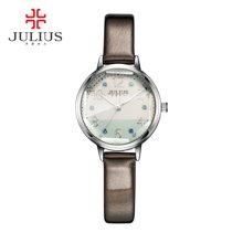 聚利时julius时尚八角镜拼接色彩表盘学生表女表石英手表女JA-930