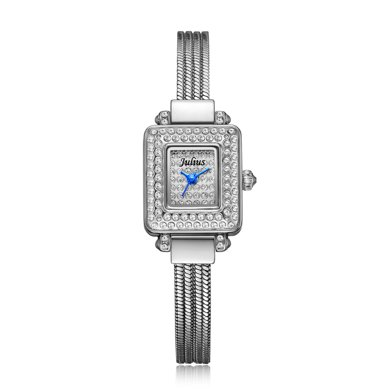 特賣聚利時手表女韓風時尚鑲鉆銅帶手表潮流優雅時裝手鏈表JA-698
