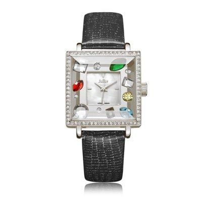 特賣聚利時方形大表盤閃耀水鉆時尚手表石英學生手表女JA-607
