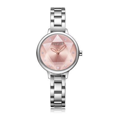 聚利時品牌手表女鑲鉆時尚氣質腕表韓版學生潮流六芒星表JA-1152