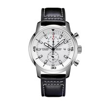 古尊(GOLGEN)手表 时尚系列石英男表白色GN.19018M.PS