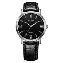 古尊(GOLGEN)手表 商务系列石英男表黑色GN.19008M.PB