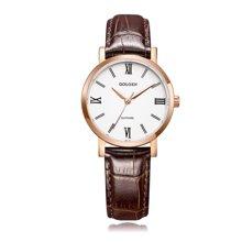 古尊(GOLGEN)手表 簡愛系列石英女表白色GN.19008L.RS