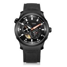 古尊(GOLGEN)手表 蛟龙号200米防水游泳户外运动潜水机械男士手表 黑色GN.6120M.PB