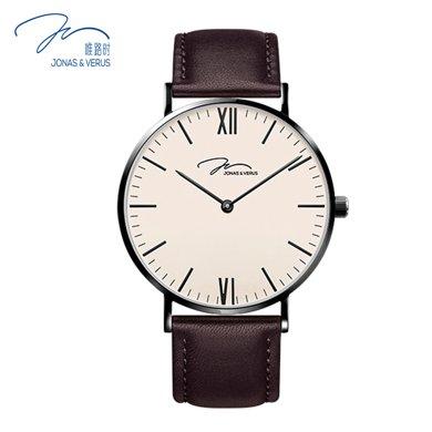 唯路時(JONAS&VERUS)手表 簡約時尚石英男表Y01646-Q3.BBXLZ