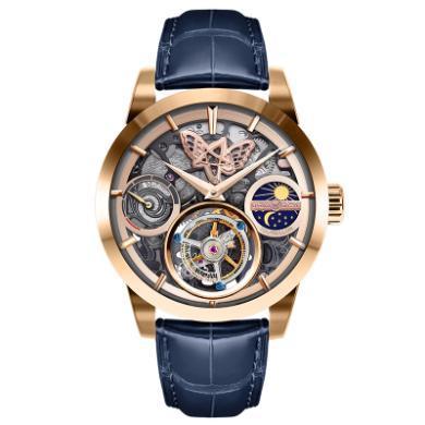 【支持購物卡】MEMORIGIN 萬希泉陀飛輪腕表 機械表 男表 李成敏設計 克拉拉 系列