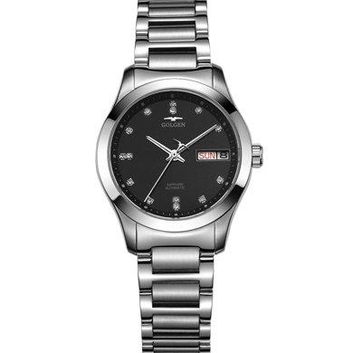 古尊(GOLGEN)手表 水鉆系列機械女表黑色GN.6097L.PB