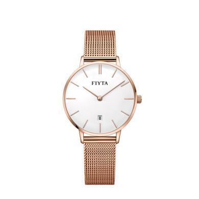 【熱銷女款】飛亞達(FIYTA)手表 One系列時尚簡約石英女士手表DL850002.PWP