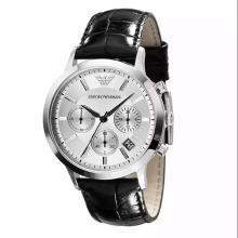 【支持购物卡】阿玛尼(Emporio Armani)手表 潮流意大利风格简约时尚男士手表AR2432