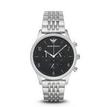 [支持購物卡]阿瑪尼(Armani)正品大氣鋼帶手表男 潮流簡約商務男士腕表AR1863