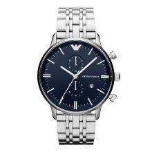[支持購物卡]阿瑪尼(Armani)手表 男士手表多功能時尚腕表AR1648 商務男士石英表 阿瑪尼手表 鋼帶
