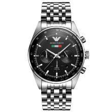 [支持购物卡]阿玛尼(Armani)商务休闲男士日历潮流石英手表腕表AR5983