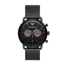 [支持购物卡]阿玛尼(Armani)时尚潮流钢带石英男士手表钢带石英腕表AR11142