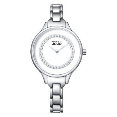 NATURALLY JOJO   BRACELET系列施華洛鉆精鋼手鏈表JO968301-80F