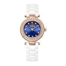 NATURALLY JOJO 新款镶钻陶瓷腕表迷你型JO99002-86R