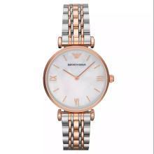 【支持購物卡】阿瑪尼(Emporio Armani)手表鋼制表帶時尚休閑簡約石英女士腕表AR1683