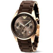 [支持购物卡]阿玛尼(ARMANI)手表 男女情侣对表时尚石英情侣手表 AR5891
