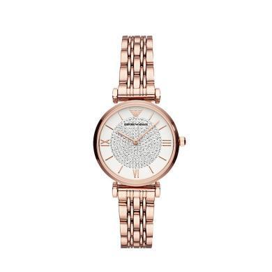 [支持購物卡]阿瑪尼(Armani)新款滿天星網紅女士手表石英腕表AR11244